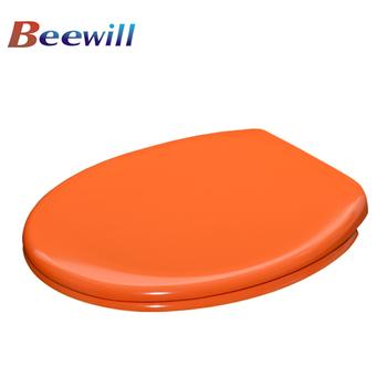 Orange Color Toilet Seat Bathroom Sanitary Accessory