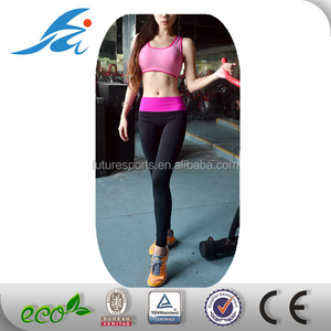 Custom wholesale fitness clothing, women dri fit moisture wicking fitness yoga wear