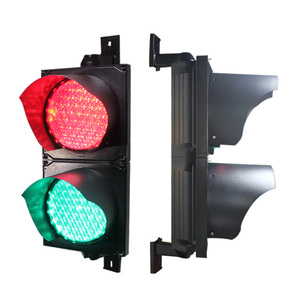 Used Well 200mm Traffic Light With Red Green PC Housing Material