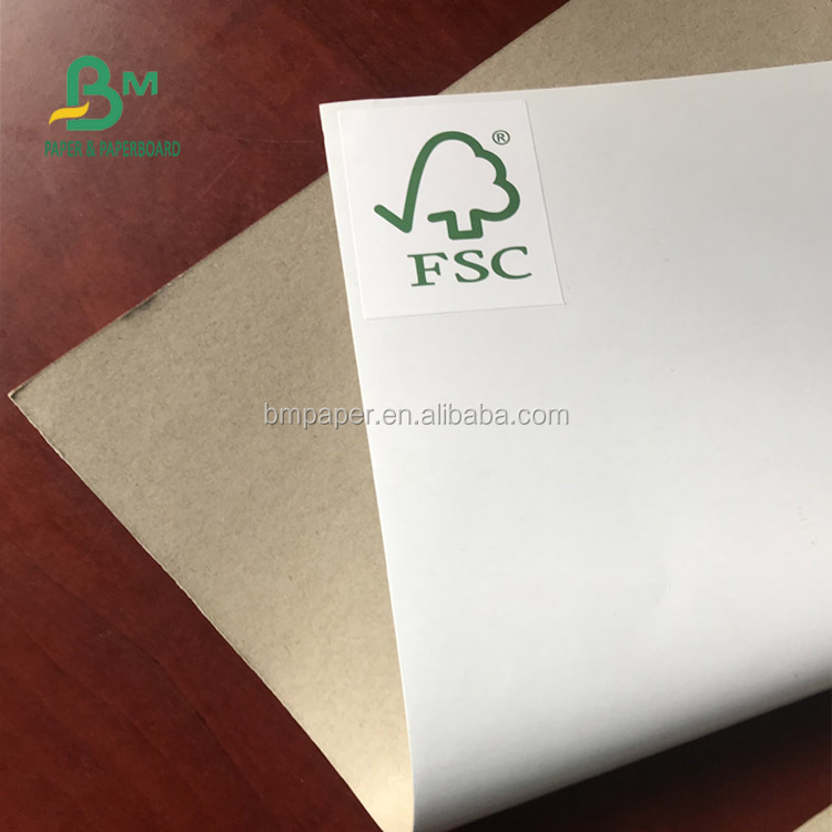 2019 C1S white coated 170g 200g duplex board with FSC certificate