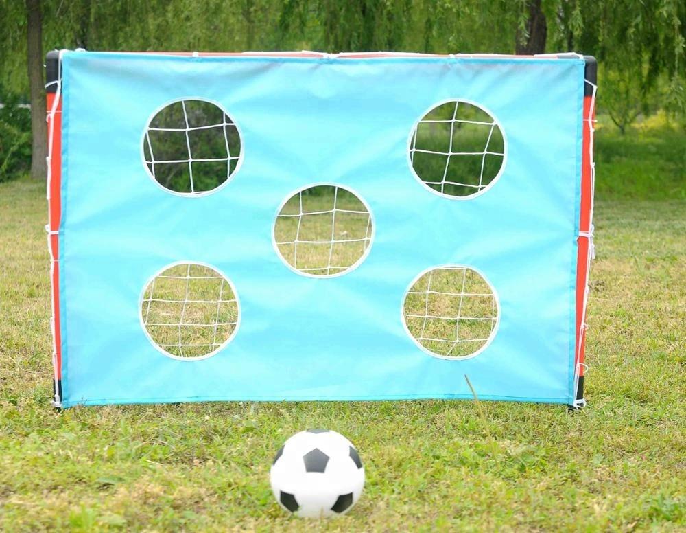 Goals Mitre Weatherproof PVC Portable Football Goal