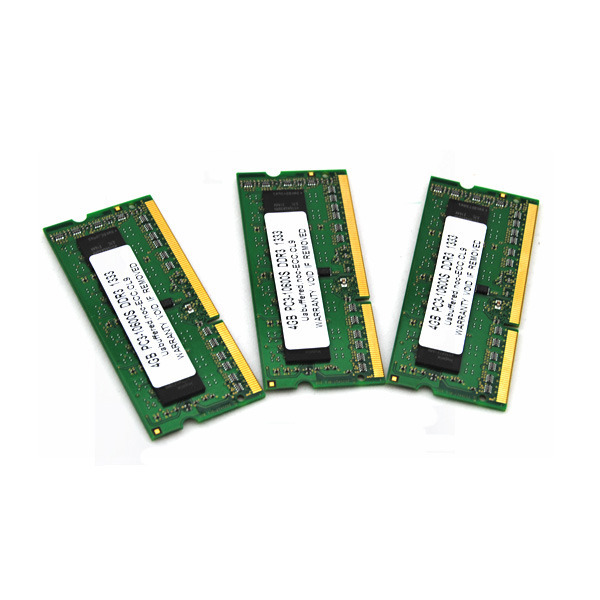 Free sample available dual channel lot of ddr3 4gb laptop RAM