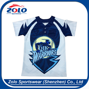 OEM orders acceptable quick dry loose swag fashion baseball jersey