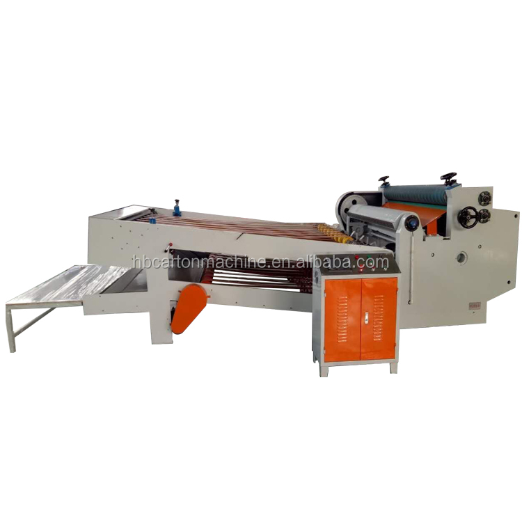 High quality corrugated box production line NC control sheet cutter