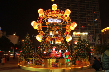 Christmas Scenes Pictures.Fancy Christmas Scenes Ferry Decoration For Large Shopping Mall Decoration Buy Large Outdoor Christmas Decorations Stage Decoration For