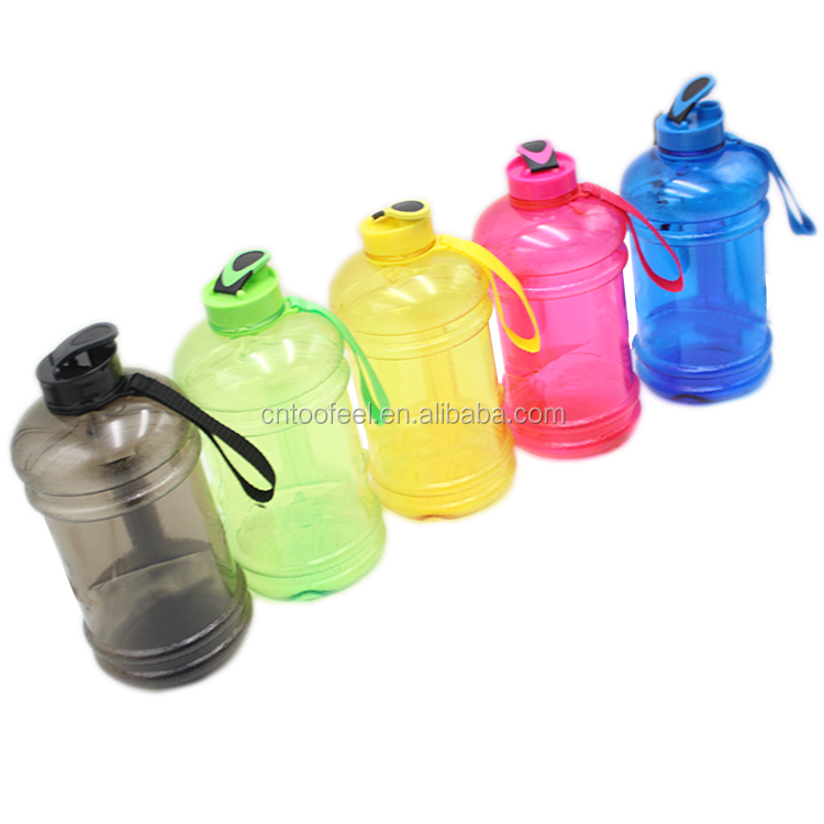 Top sellers 2019 TooFeel Half gallon water bottle custom 2.2L plastic water jug with customized logo