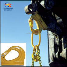 Lifting Forged Alloy Steel G80 Excavator Weld-on Hooks