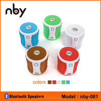 NBY-001 Led Bluetooth Speaker for Karaoke Portable Audio Player