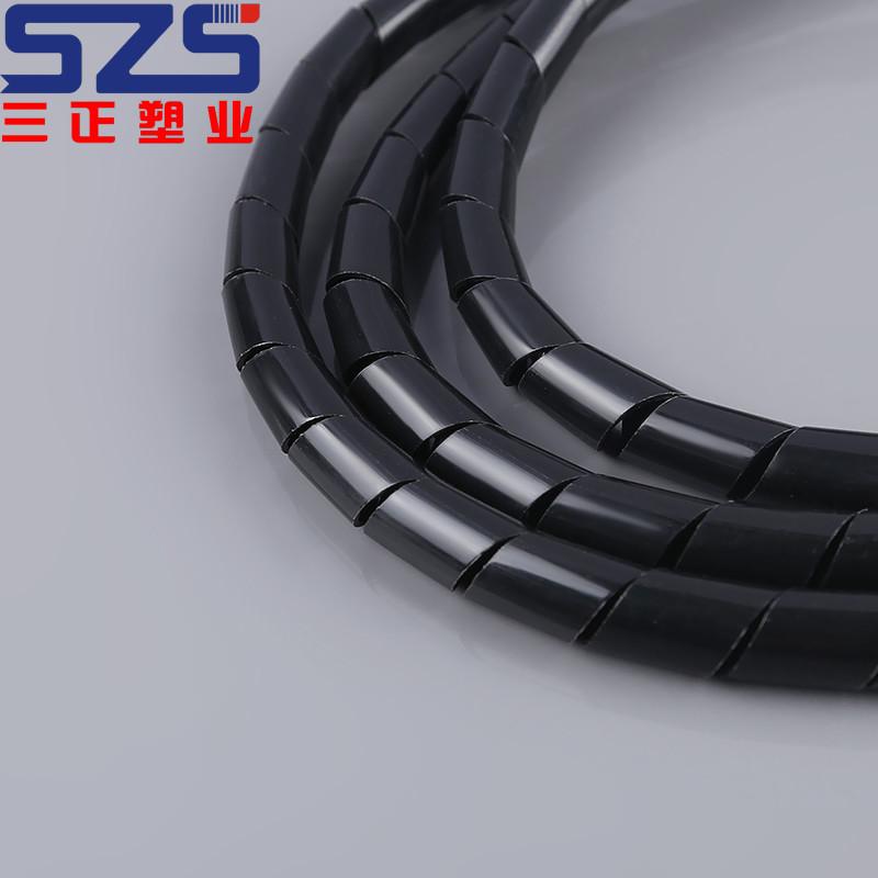 Высокое качество спиральный кабель PE Wrap Упаковка полосы завод питания