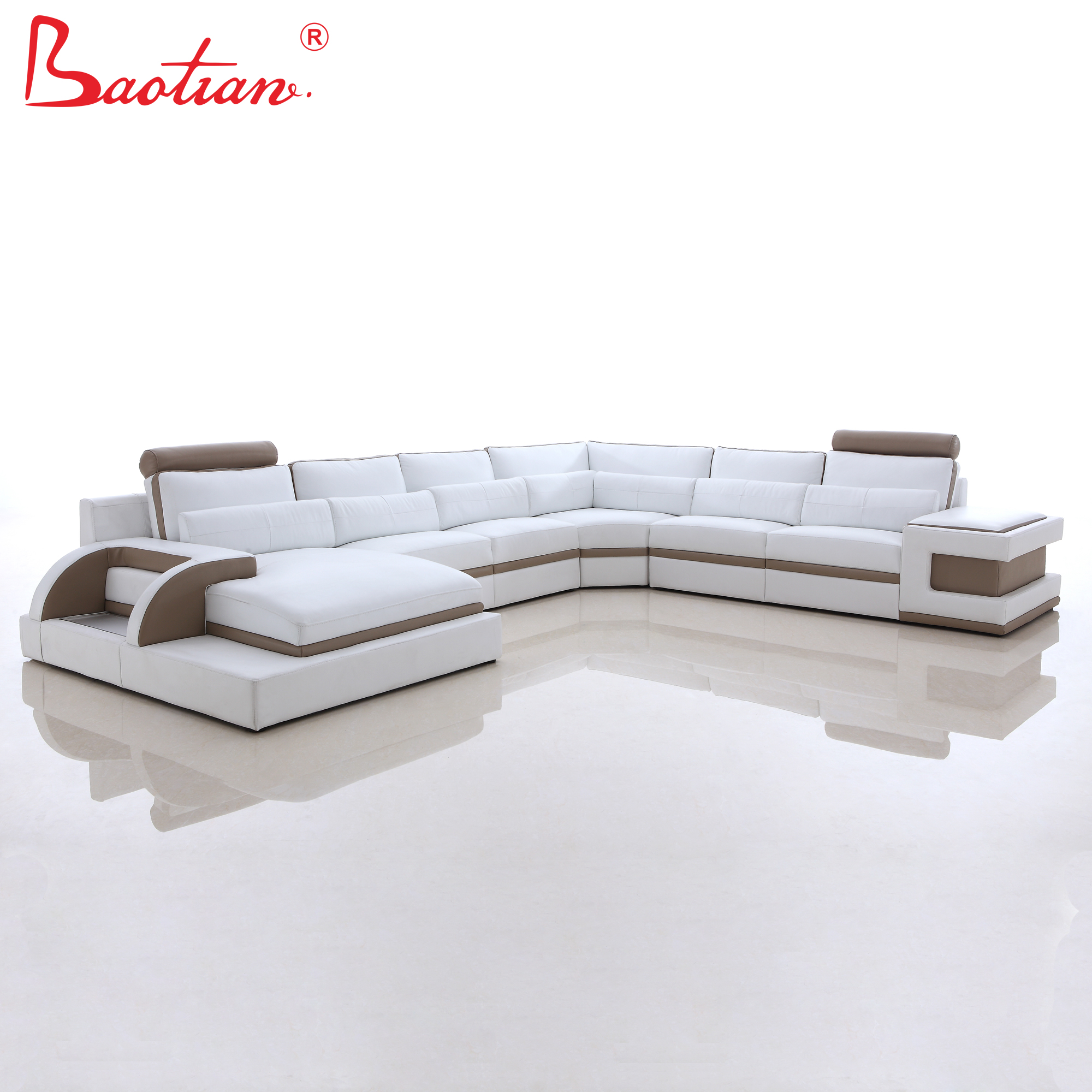 Leather Couch Sofa Modern Furniture