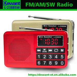L-238BSW AM FM SW digital multi-band radio,all band radio receiver with sd card slot