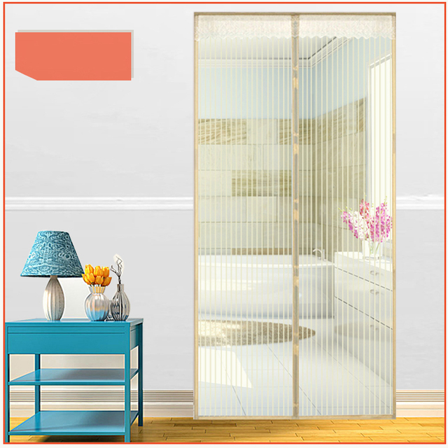 100% nylon mosquito net screen doors