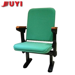 JY-308 factory price Folding up furniture chairs folding cheap metal armchair