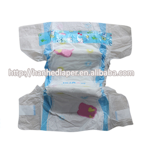 2018 New Design Fluff Pulp Material and Dry Surface Pampering Baby Diaper