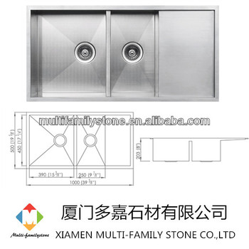 Stainless Steel Kitchen Sinks With Drainboards double bowl stainless steel sink stainless steel kitchen sink with