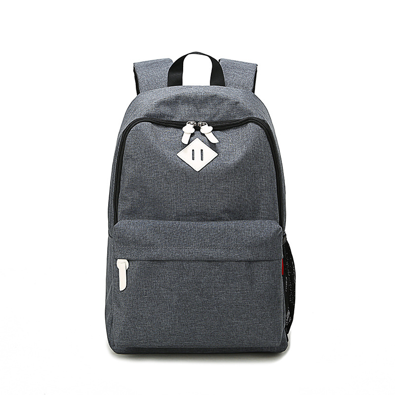 Fashionable Grey School Bag Backpack Bag for Students with Good Quality and Best Price