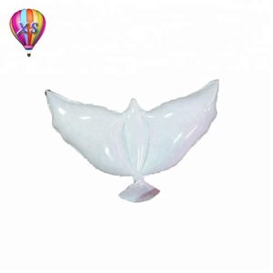 white dove balloon for promotion or kids'gift and party needs