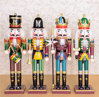 2016 new soldier wooden nutcracker christmas