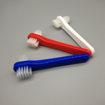 Small Denture Brush Toothbrush With Two Heads