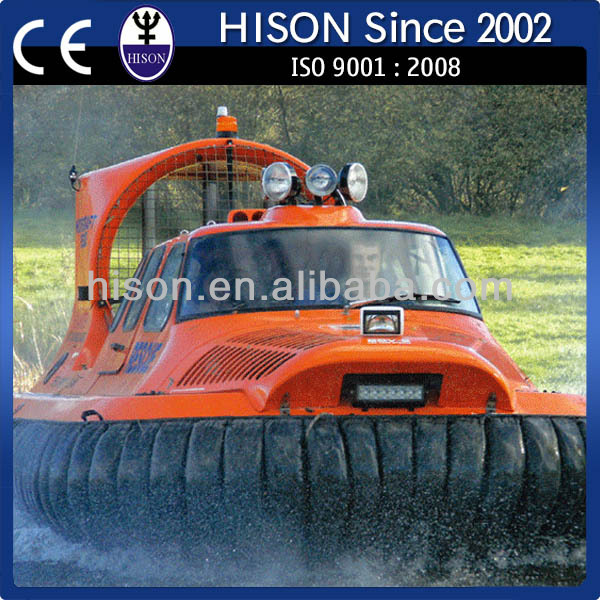 Hison top selling popular chinese water Amphibious boat