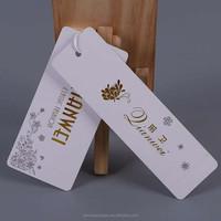 custom printed recycled paper clothing China hang tag