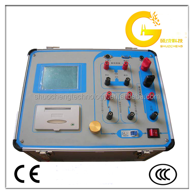 Current and voltage potential transformer calibrator tester