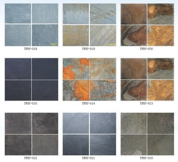 Rusty Antique Natural Slate Stone Tiles