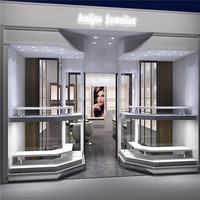 Retail Fashion Jewelry Store Interior Shop Design