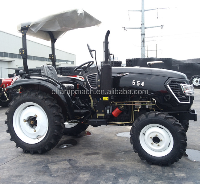 hot-selling 55hp 4wd mini farm escort tractor price