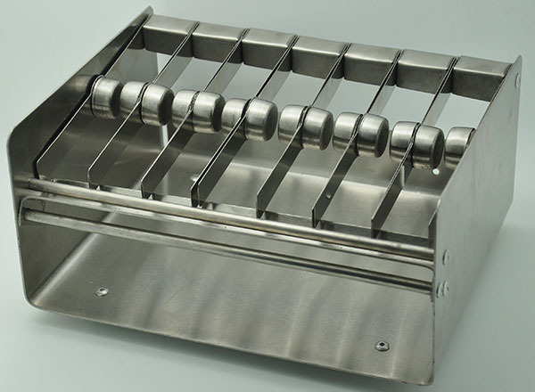 High quality 7 slot metal Label dispenser