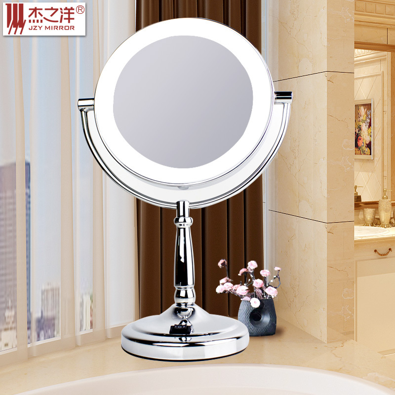 Espejos con luz led deco bp moderno espejo para bao con for Espejo para maquillarse