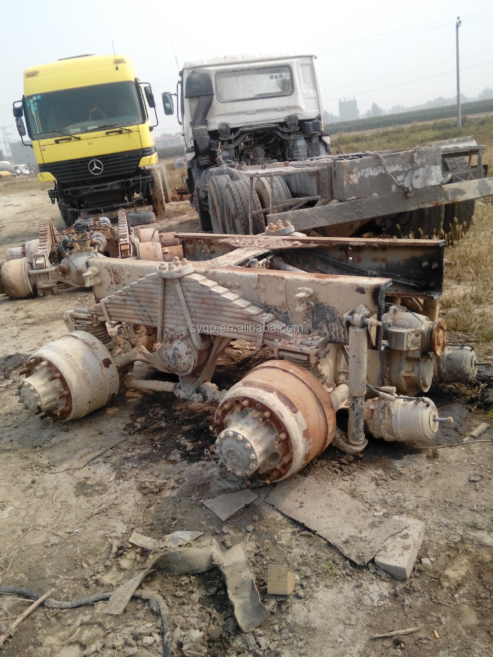 Used Volvo Rear Axle Ctev87 And Volvo Complete Truck Fh12 In Sale - Buy Used Volvo Rear Axle ...