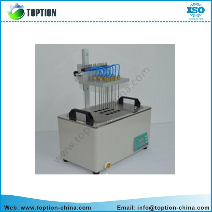 Water bath nitrogen concentrator, used for sample preparation in the gas phase,solid phase and mass spectrometry