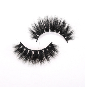 Hot selling premium siberian mink lashes 100% cruelty free 3d mink eyelashes packaging box custom