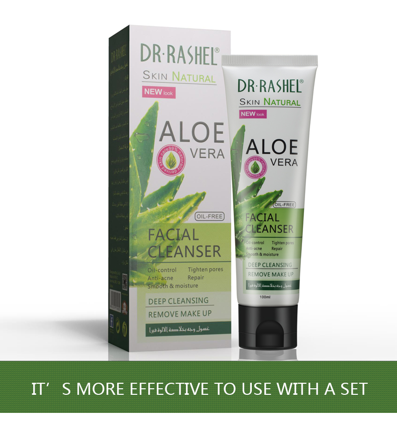 DR.RASHEL Aloe Vera Deep Cleansing Facial Cleanser