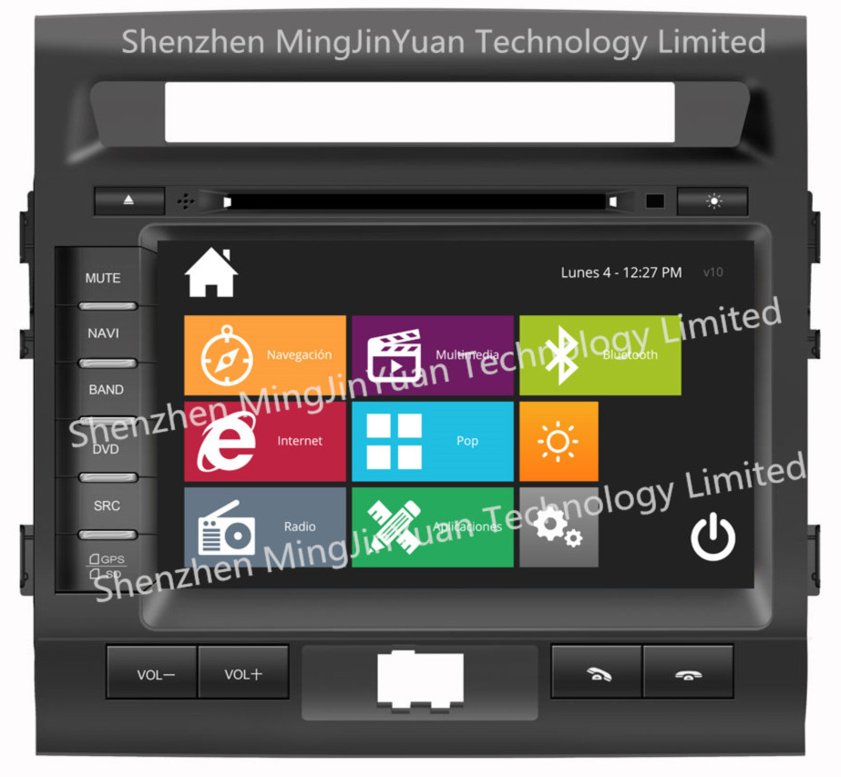 car entertainment for Toyota Land cruiser2012 LC200