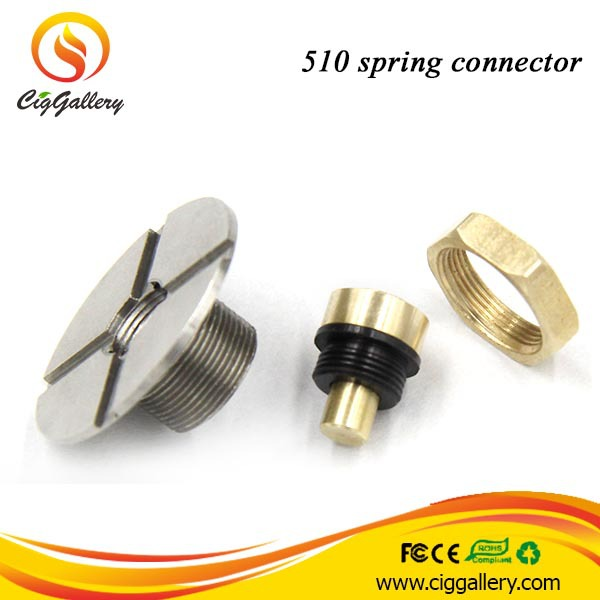 China Diy 510 Battery Connector Spring Loaded 510 Connector For Box Mod -  Buy Spring Loaded 510 Connector,510 Connector,510 Battery Connector Product