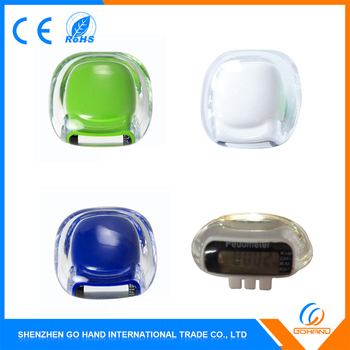 New Products Plastic Super Mini Fitness Pedometer For Promotion