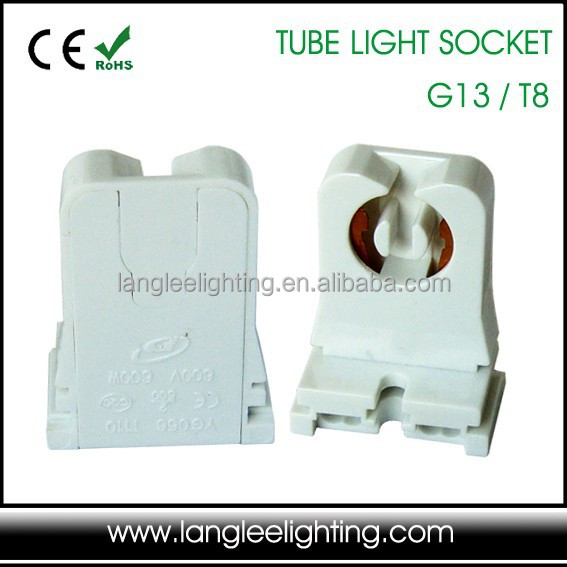 Non-Shunted UL Listed G13 T8 Fluorescent Tube Light Lamp Socket Lampholder