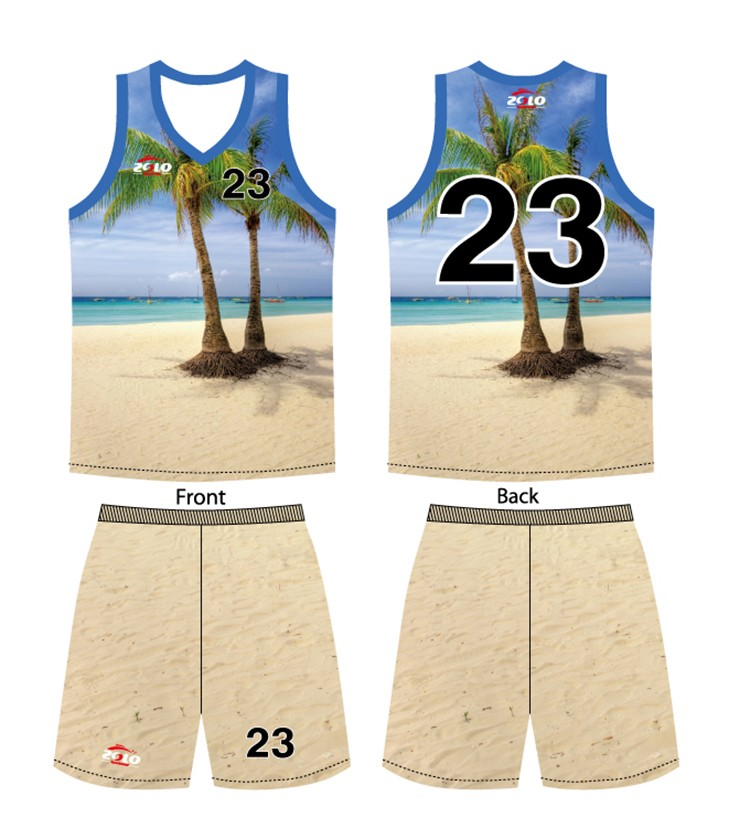 Make your own design sublimation sportswear women basketball