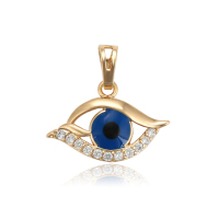 33907 xuping blue evil eye fashion Environmental Copper pendant