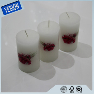 Factory supply water slide decal candle transfer paper