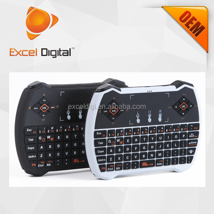 2016 new touchpad backlit mini keyboard bluetooth
