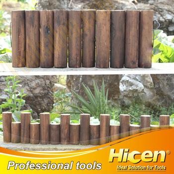 Wooden Garden Edging/Courtyard Lawn Edging