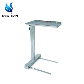Bt Smt003 Stainless Steel Hospital Tray Table Medical Trolley Laboratory Equipment Surgical