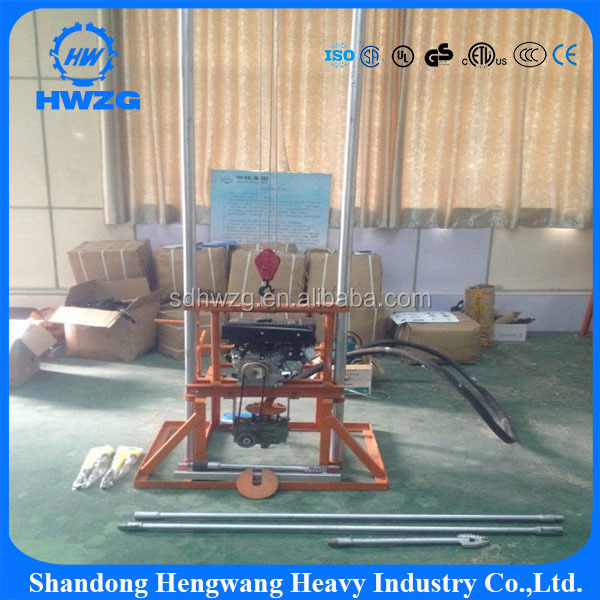 China Small portable spt soil testing portable drilling rig