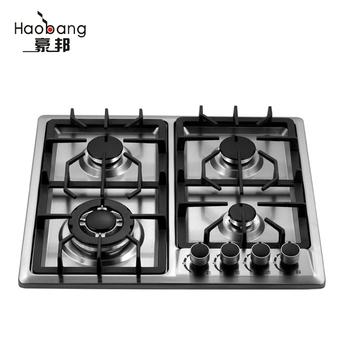 Gas Cooking Range 4 Burner Hob