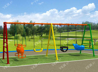 Simple Design And Multi Color Outdoor Park Swing Sets Toy - Buy ...