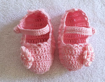 Hand Knitted Baby Shoes,Cute Lovely