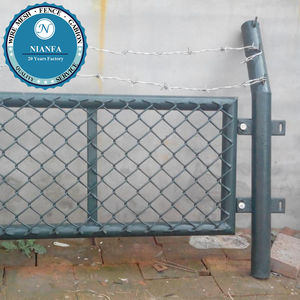 PVC Tennis court chain link fence netting/fence for volleyball court(Guangzhou Factory)